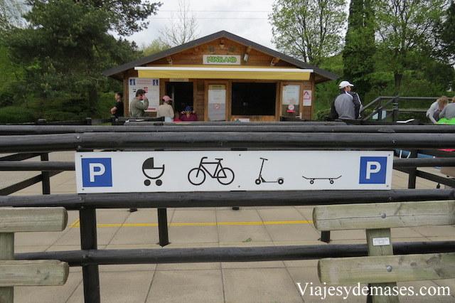 Un estacionamiento diferente.