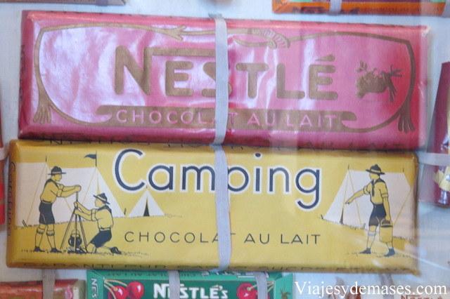 Barras de chocolate.