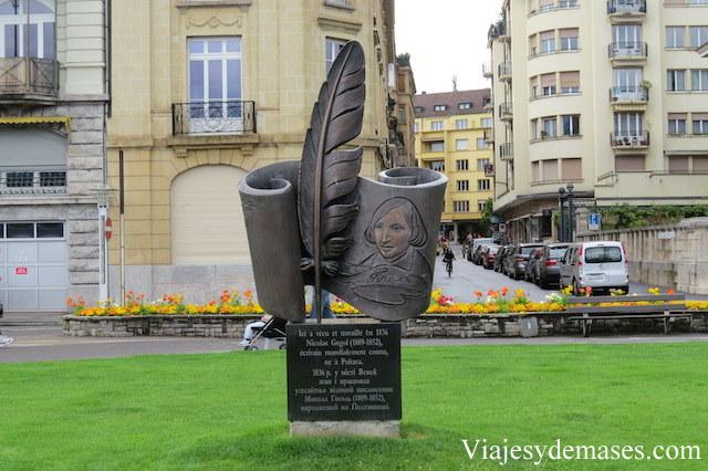 Nicolas Gogol realizaó una estadía en Vevey en 1836.