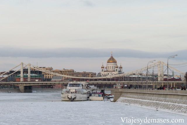 """""""El día después de mañana"""". Sí, ¡la Moskva está congelada!"""